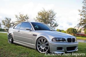 """2002 BMW M3 2002 BMW E46 M3 COUPE 6-SPEED MANUAL 19"""" UPGRADED RARE!"""