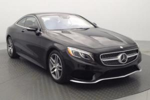 2015 Mercedes-Benz S-Class S550 Coupe 4MATIC