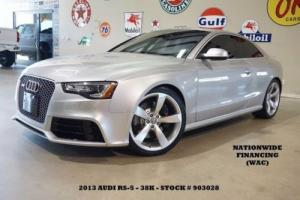 2013 Audi Other Coupe SUNROOF,NAV,BACK-UP,HTD LTH,B&O SYS,20'S,38K,WE FINANCE