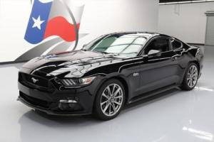 2015 Ford Mustang GT PREM 5.0 CLIAMTE LEATHER NAV