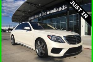 2014 Mercedes-Benz S-Class S63 AMG 4MATIC Certified