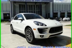 2015 Porsche Macan WE SHIP, WE EXPORT, WE FINANCE