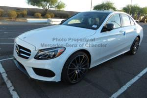 2017 Mercedes-Benz C-Class C300 Sedan with Sport Pkg