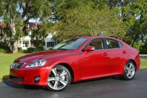 2012 Lexus IS 4dr Sport Sedan Automatic RWD W/Premium Package