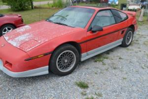 1986 Pontiac Fiero Runs good