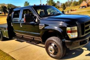 2008 Ford F-350 Lariat Heated Leather BLACKED OUT Dually Flat Bed