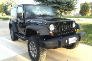 2013 Jeep Wrangler Rubicon 4x4 with PentaStar 3.6L V6