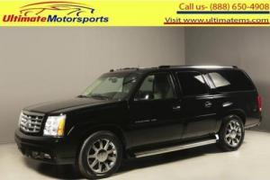 2005 Cadillac Escalade 2005 ESV PLATINUM AWD NAV DVD SUNROOF 7PASS 65K ML