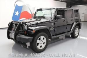 2010 Jeep Wrangler UNLTD SAHARA 4X4 HARD TOP NAV Photo