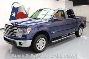 2014 Ford F-150 LARIAT CREW ECOBOOST NAV LEATHER