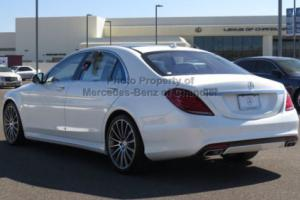 2017 Mercedes-Benz S-Class S550 Sedan Photo