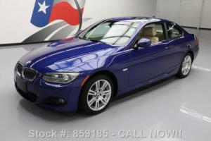 2012 BMW 3-Series 335I XDRIVE COUPE AWD M-SPORT SUNROOF NAV