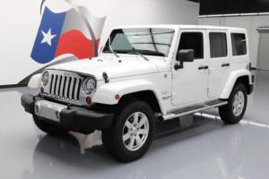 2012 Jeep Wrangler UNLTD SAHARA HARD TOP 4X4 NAV