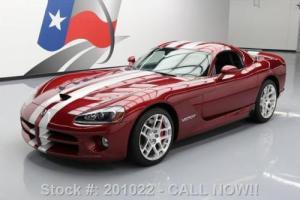 2008 Dodge Viper SRT-10 COUPE 600HP NAV VENOM RED