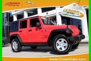2013 Jeep Wrangler Sport Certified