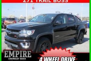 2016 Chevrolet Colorado 4WD Crew Cab 128.3 Z71 Trail Boss Edition Black