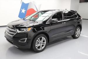 2016 Ford Edge TITANIUM  HTD LEATHER REAR CAM 19'S