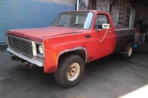 Chev C20 Australian Delivered & Complied,Factory small block Chev  manual,LWB