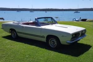 1967 Plymouth Barracuda Big Block Convertible