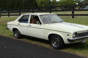 TORANA LH 1975 FACTORYV8  253 4SPEED,MATCHING NUMBERS,VERY ORIGINAL COUNTRY CAR