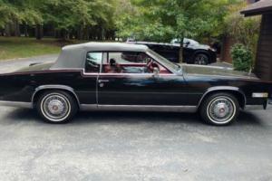 1985 Cadillac Eldorado CONVERTIBLE