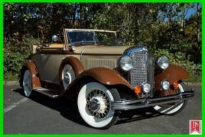 1932 Chrysler CI Convertible Photo