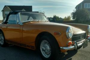 1972 MG Midget Mg Photo