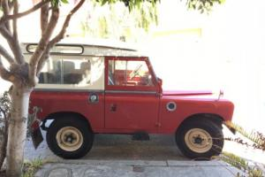 1964 Land Rover Other Series lla SWB Safari Top
