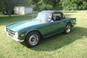 1970 Triumph TR-6 TR6 Photo