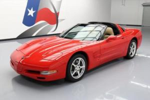 2000 Chevrolet Corvette TARGA TOP AUTOMATIC LEATHER