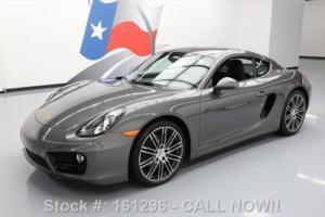 2015 Porsche Cayman 6SPEED CLIMATE SEATS NAV 20'S