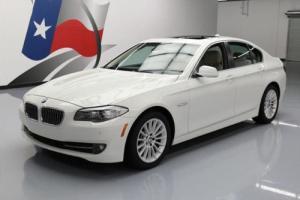2012 BMW 5-Series 535I SEDAN HTD SEATS SUNROOF NAV REAR CAM
