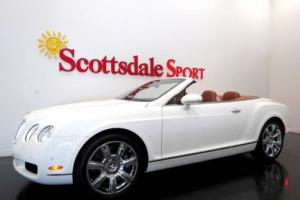 2007 Bentley Continental GT GLACIER WHITE w ONLY 19K MILES, LOADED w OPTIONS!!