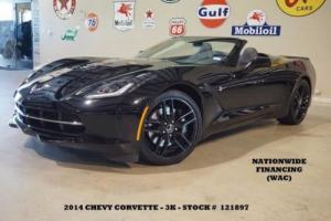 2014 Chevrolet Corvette Z51 3LT HUD,NAV,HTD/COOL LTH,BLK WHLS,3K!