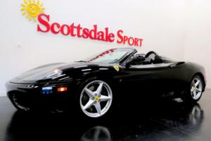 2004 Ferrari 360 ONLY 9K MILES, SHIELDS, DAYTONA'S, F/R CHALLENGE G