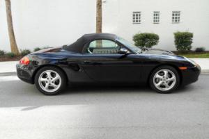 1997 Porsche Boxster 1997 Porsche Boxster Black