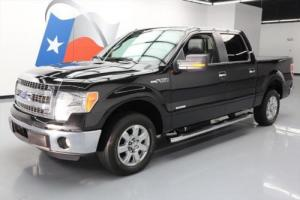 2014 Ford F-150 XLT CREW ECOBOOST LEATHER REAR CAM