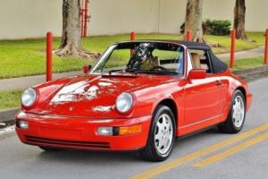1990 Porsche 911 All Original Low Miles Full Rebuild Service at 54K