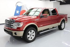 2013 Ford F-150 LARIAT CREW ECOBOOST SUNROOF NAV Photo