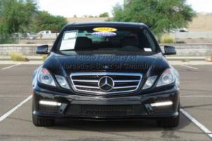 2013 Mercedes-Benz E-Class 4dr Sedan E63 AMG RWD