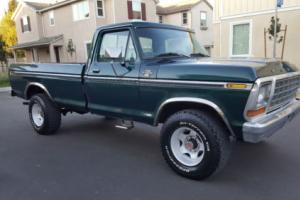 1978 Ford F-250 RANGER XLT 4X4 RUST FREE 400 V8 RUNS GREAT 4WD