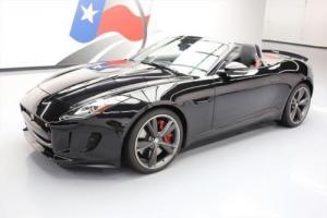 2014 Jaguar F-Type S CONVERTIBLE NAV REAR CAM 20'S