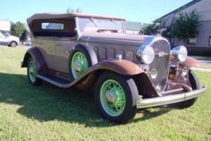 1932 Buick 65 Sport Phaeton