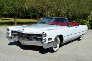 1966 Cadillac DeVille Convertible Beautiful Restoration! Bucket Seats!