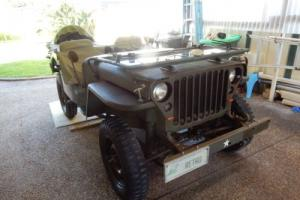 1942 WILLYS  MB ARMY JEEP MILITARY WORLD WAR 11 COMBAT BATTLE 4WD 4 CYLINDER