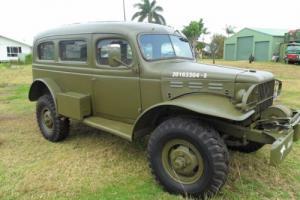 1942 Dodge 4x4 Army Carryall