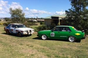 Datsun Stanza Race Car and Rally Car Package Photo