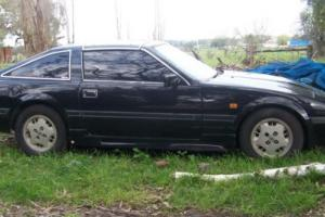 NISSAN 300 ZX 1985 5 SPEED---VERY COOL, ALL BLACK W / FULL BODY KIT....TARGA TOP
