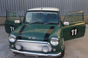 1999 Rover Mini Light Green and white roof and light green leather