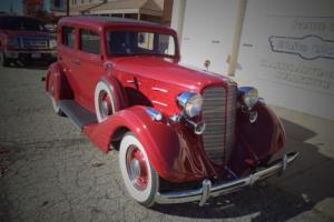 1934 Nash Advanced 8 1280 Sedan